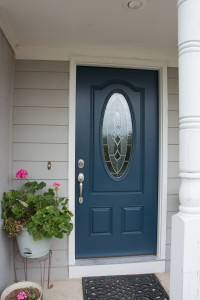 Replace Rotted and Rusted Entry doors with a premium fiberglass door
