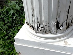 Rotted Structural Pillar