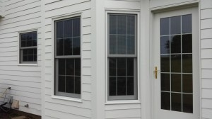 Colonial Grids in these double hung windows